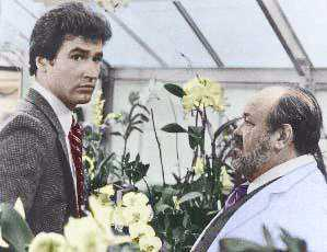 Lee Horsley and William Conrad in the 80's Nero Wolfe.