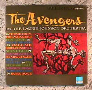 Avengers LP by Laurie Johnson