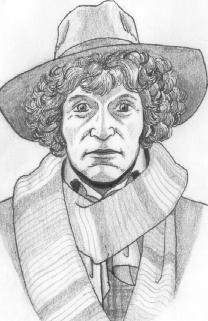 Dr. Who Sketch by unknown artist